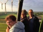 Geweldige heteluchtballonvaart boven de regio Tilburg op zondag 19 augustus 2018