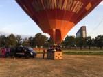 Uitmuntende ballon vlucht in de omgeving Tilburg op zondag 19 augustus 2018