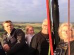 Ongekende ballon vlucht over de regio Tilburg op zondag 19 augustus 2018