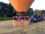 Ultieme ballon vaart vanaf startveld Tilburg op zondag 19 augustus 2018