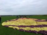 Ongekende ballonvaart opgestegen op startveld Tilburg op zondag 19 augustus 2018