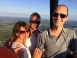 Comfortabele ballonvaart over de regio Almelo op zondag  2 september 2018