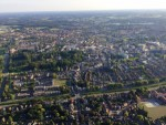 Indrukwekkende ballonvlucht in de buurt van Almelo op zondag  2 september 2018