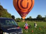 Plezierige luchtballon vaart vanaf startlocatie Beesd op zondag  2 september 2018