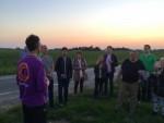Feestelijke luchtballonvaart gestart in Beesd op zondag  2 september 2018