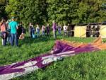 Verbluffende ballonvlucht regio Beesd op zondag 2 september 2018