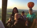 Verbluffende ballon vaart omgeving Beesd op zondag 2 september 2018