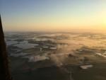 Formidabele luchtballonvaart in de buurt van Joure op zondag 2 september 2018