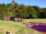 Uitzonderlijke luchtballonvaart in de omgeving Tilburg op zondag 2 september 2018