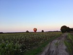 Adembenemende luchtballonvaart gestart op opstijglocatie Tilburg op zondag 2 september 2018