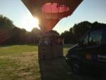 Betoverende ballon vaart vanaf startveld Tilburg op zondag 2 september 2018