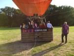 Prettige ballon vaart in de omgeving van Tilburg op zondag 2 september 2018