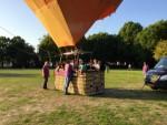 Sublieme heteluchtballonvaart gestart op opstijglocatie Tilburg op zondag 2 september 2018