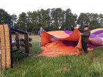 Relaxte luchtballon vaart omgeving Enschede zondag 20 mei 2018