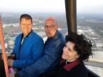Adembenemende luchtballonvaart vanaf startlocatie Enschede zondag 20 mei 2018