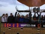 Heerlijke heteluchtballonvaart regio Joure zondag 20 mei 2018