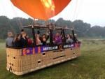 Ongelofelijke mooie heteluchtballonvaart gestart op opstijglocatie Tilburg zondag 20 mei 2018