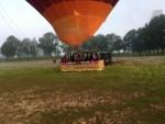 Waanzinnige ballon vaart opgestegen op opstijglocatie Tilburg zondag 20 mei 2018