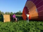 Fascinerende ballonvaart in de omgeving Beesd op zondag 21 april 2019