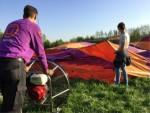 Buitengewone luchtballonvaart omgeving Beesd op zondag 21 april 2019