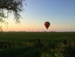 Voortreffelijke luchtballonvaart boven de regio Beesd op zondag 21 april 2019