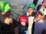 Mooie ballon vlucht vanaf startlocatie Beesd op zondag 21 april 2019
