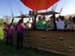 Ongeëvenaarde ballon vaart opgestegen op opstijglocatie Beesd op zondag 21 april 2019
