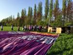 Plezierige luchtballonvaart opgestegen op startlocatie Beesd op zondag 21 april 2019