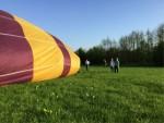 Formidabele ballon vlucht opgestegen op opstijglocatie Beesd op zondag 21 april 2019