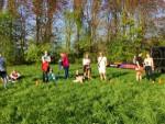 Te gekke heteluchtballonvaart in de omgeving Beesd op zondag 21 april 2019
