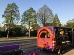 Professionele ballon vlucht gestart in Beesd op zondag 21 april 2019