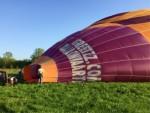 Spectaculaire heteluchtballonvaart omgeving Beesd op zondag 21 april 2019