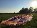 Exceptionele heteluchtballonvaart in de omgeving Maastricht op zondag 21 april 2019