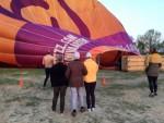 Prachtige ballon vlucht gestart in Tilburg op zondag 21 april 2019
