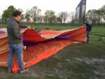 Bijzondere ballon vlucht in Tilburg op zondag 21 april 2019