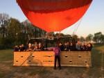 Prachtige ballonvlucht vanaf startveld Tilburg op zondag 21 april 2019