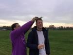 Jaloersmakende ballon vlucht vanaf startlocatie Ommen op zondag 21 oktober 2018