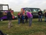 Te gekke ballonvaart gestart op opstijglocatie Sprang-capelle op zondag 21 oktober 2018