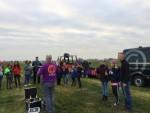 Geweldige ballonvaart vanaf startlocatie Sprang-capelle op zondag 21 oktober 2018