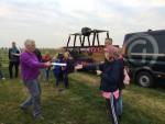 Voortreffelijke heteluchtballonvaart gestart op opstijglocatie Sprang-capelle op zondag 21 oktober 2018