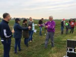Heerlijke luchtballon vaart opgestegen in Sprang-capelle op zondag 21 oktober 2018