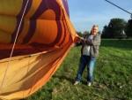 Ongekende luchtballonvaart in de buurt van Sprang-capelle op zondag 21 oktober 2018
