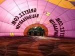 Voortreffelijke luchtballonvaart in de regio Sprang-capelle op zondag 21 oktober 2018
