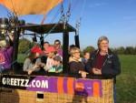 Formidabele luchtballonvaart vanaf startlocatie Sprang-capelle op zondag 21 oktober 2018