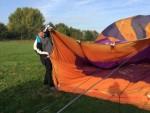 Geweldige luchtballonvaart in de regio Sprang-capelle op zondag 21 oktober 2018