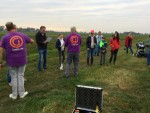Super ballon vlucht vanaf startveld Sprang-capelle op zondag 21 oktober 2018