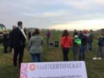 Feestelijke ballonvaart in Sprang-capelle op zondag 21 oktober 2018