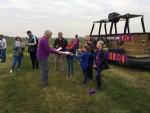 Sublieme ballonvlucht opgestegen in Sprang-capelle op zondag 21 oktober 2018