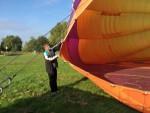 Heerlijke heteluchtballonvaart vanaf opstijglocatie Sprang-capelle op zondag 21 oktober 2018