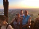 Super heteluchtballonvaart opgestegen in Arnhem zondag 22 juli 2018